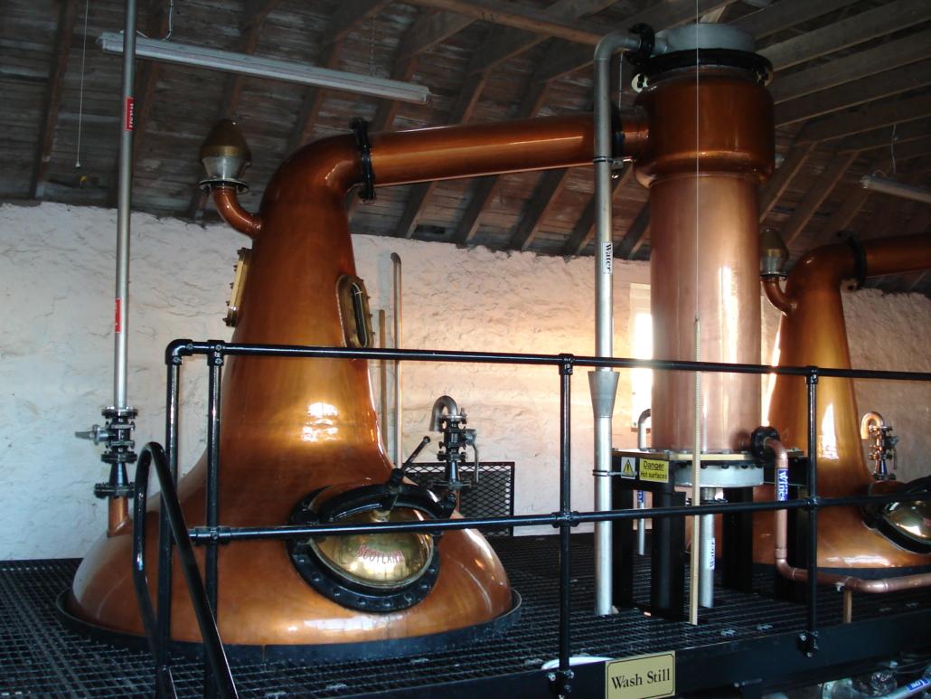 Around the distillery