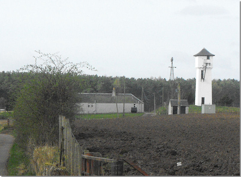 Daftmill Water Tower